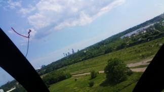 22. Niagara Falls in the background