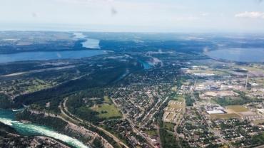 33. Niagara Falls and Lake Ontario