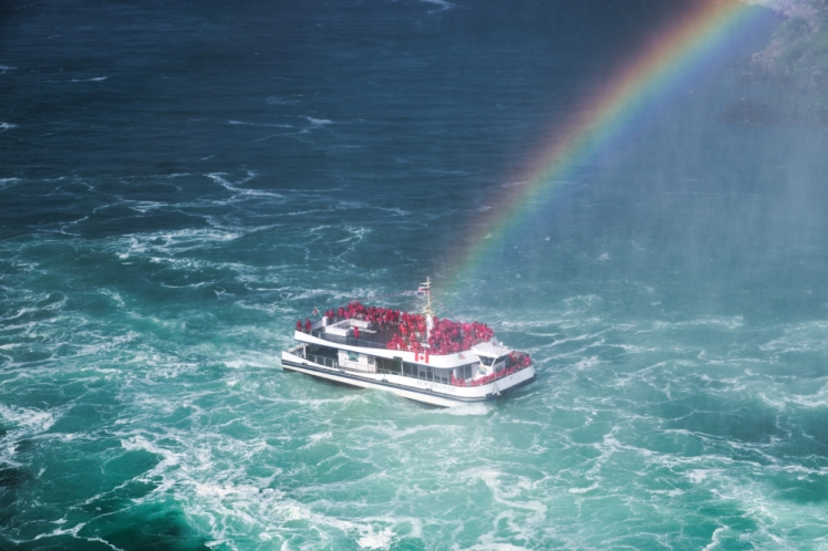 34. Niagara Falls Rainbow Treasure