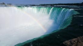34. Niagara Falls Rainbow