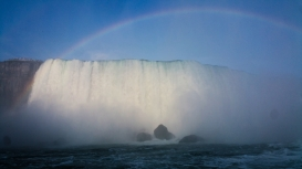 38. Niagara Falls from the Hornblower 2
