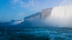 38. Niagara Falls from the Hornblower
