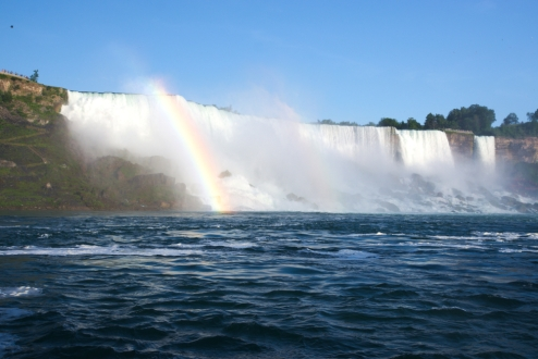 40. American Falls From the boat 2