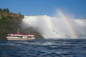 40. American Falls From the boat