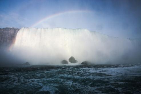 40. Niagara Falls From the boat 4