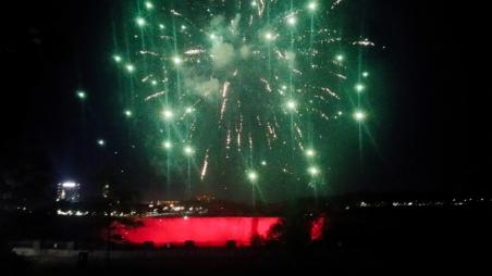 44. Niagara Falls Fireworks