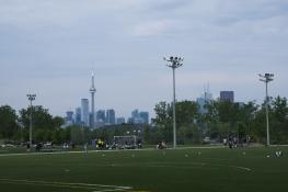 Toronto 1 football field