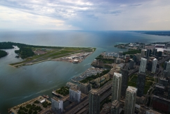Toronto 5. from CN Tower 2