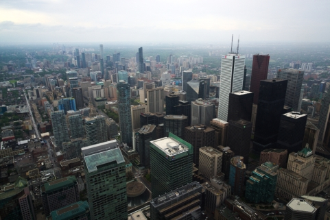 Toronto 5. from CN Tower 7