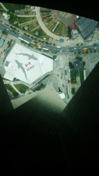 Toronto 5. up the tower 4