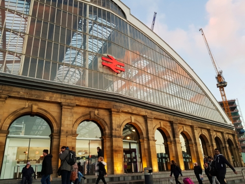 1. Off we go. Liverpool Lime Street Station