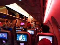 3. Qatar Airways 787 Dreamliner inside