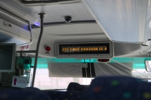 Airport Bus 777. Pay for the ticket