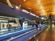 Doha airport train inside