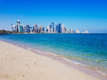 Doha beach
