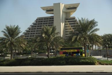 Doha city tour bus
