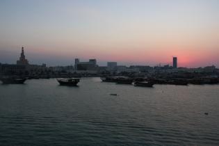 Doha dusk