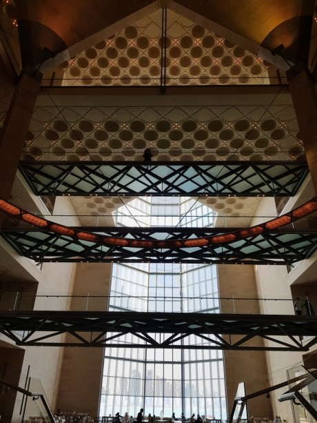 Doha Museum of Islamic Art inside