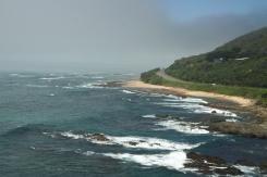 Fog on the horizon Great Ocean Road 7