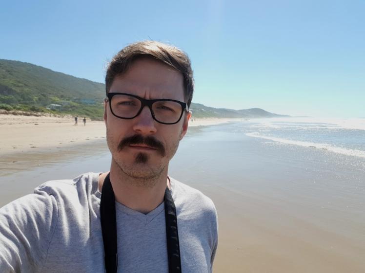 Great Ocean Road Entrance Beach selfie