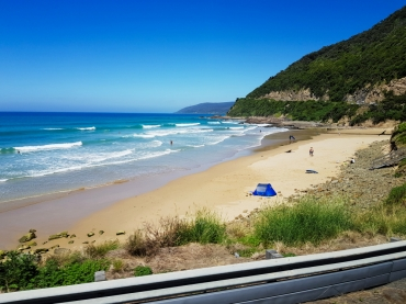 Great Ocean Road from the bus 3