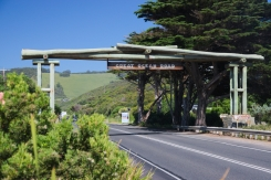 Great Ocean Road gate