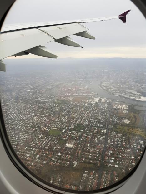 Landing in Melbourne