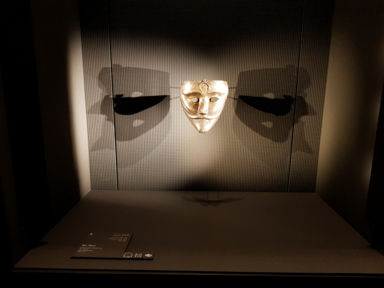 MoIA exhibition War Mask