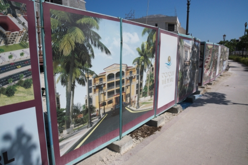 Pearl Qatar in construction 2