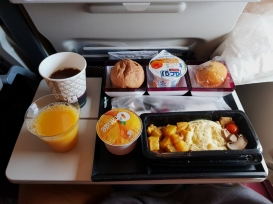 Qatar Airways food