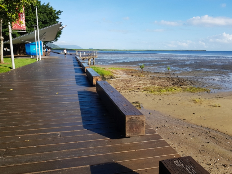 Cairns in the morning