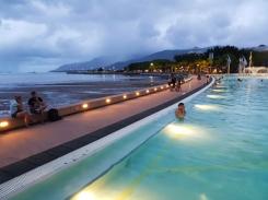 Cairns seaside.