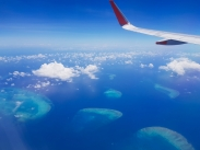Great Barrier Reef from above 2