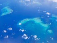 Great Barrier Reef from above 3