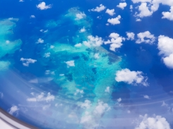 Great Barrier Reef from above 4