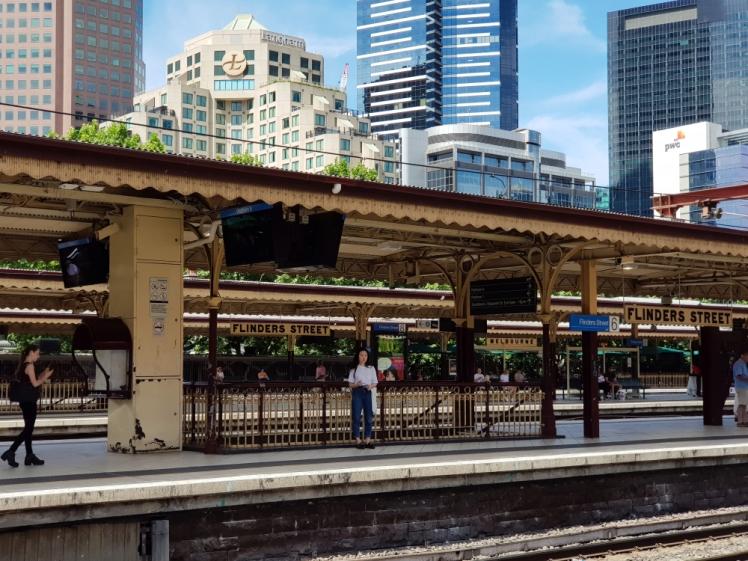 Melbourne City Centre Flinders Street