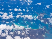 Whitsundays Islands from above 2